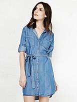 Women's American Apparel With Pocket Fashion Long Shirt