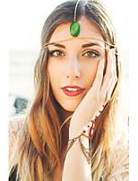 Celada Cadena para la Cabeza Casual/Al Aire Libre Aleación Mujer Casual/Al Aire Libre 1 Pieza