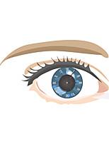 Morden 3D Effect Beautiful Eye Wall Clock 27.28*15.7 inch / 69.3*40 cm
