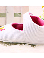 Baby Shoes Casual Fleece Flats Blue/Pink/White