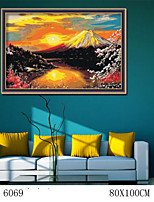 DIY Digital Oil Painting  Large Size Without Frame  Family Fun Painting All By Myself Fuji 6069