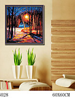 DIY Digital Oil Painting  Large Size Without Frame  Family Fun Painting All By Myself     Warmth 6028