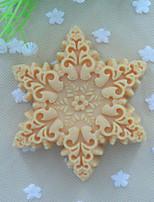 Schneeflocken Formseifenform-Fondant-Kuchen Schokoladensilikonform, Dekorationswerkzeuge Backformen