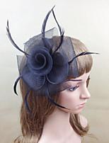 Women Fabric Hair Clip , Party Fascinators/Flowers Headpiece
