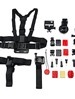 13 in 1 Sports Camera Accessories Kit for GoPro Hero 4/3+/3/2/1/sj4000/sj5000/sj6000/xiaomi yi