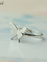 Cute/Party/Work/Casual Sterling Silver Adjustable Ring