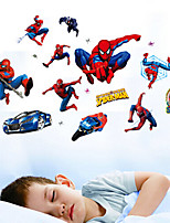 Children's Room Classroom Decoration Cartoon Spider-Man Wall Stickers