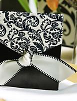 Cajas de regalos ( Negro/Blanco , Papel de tarjeta/Seda ) - Tema Clásico -Matrimonio/Aniversario/Despedida de Soltera/Baby