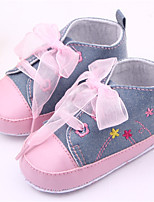 Baby Shoes Casual Fabric Fashion Sneakers Blue/White