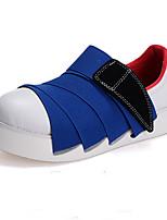 Zapatos de mujer - Plataforma - Punta Redonda - Sneakers a la Moda - Casual - Sintético - Negro / Azul / Gris
