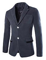 Men's Long Sleeve Regular Blazer , Nylon Pure