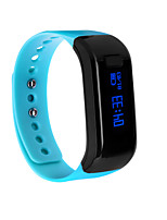 Wearable Smart Wristband Bracelet, Bluetooth4.0/OLED/Pedometer/Sleep Tracker for Android/iOS