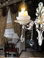 Lampade a candela da parete - Tradizionale/classico - DI Metallo - Cristallo