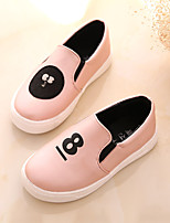 Girls' Shoes Outdoor/Casual Round Toe/Closed Toe Faux  Fashion Sneakers Pink/Silver/Gold
