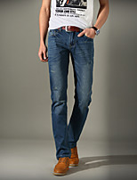 Men's Casual/Work/Sport Print Pant/Jeans (Cotton)