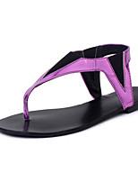 Women's Shoes Flat Heel Comfort Sandals Outdoor Purple/Gold