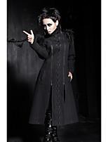 PUNK RAVE Y-405 Women's Vintage/Casual Medium Long Sleeve Long Jackets