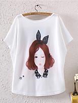 XIXI Women's  Fashion Summer 3D Tree T Shirt(Cotton Blends)