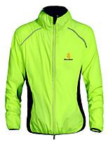 Tops/Chaqueta/Sudadera/Paravientos ( Amarillo/Blanco/Verde/Negro/Naranja ) - de Deportes recreativos/Ciclismo/Downhill/Running -