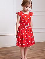 Girl's Polyester Dress , Summer Sleeveless