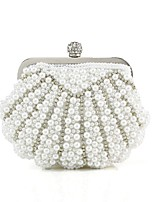 Handbag Imitation Pearl/Polyester Evening Handbags/Clutches With Crystal/ Rhinestone/Imitation Pearl/Pearl