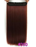 60 CM   120G Straight Hairpiece Fiber Wig  Straight Hair Piece  #350