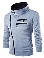Herren Freizeit/Sport Activewear Sets  -  Einfarbig Lang Baumwollmischung