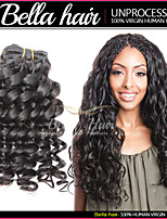 Brazilian Deep Curly Unprocessed Virgin Human Hair Extensions 3pcs/lot Double Weft Cuticle Hair Extensions