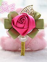 Boutonnieres ( Multicolor , Satén/Espuma/Poliéster ) - Rosas