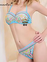 Women's Bikinis , Solid Underwire Bra Nylon/Polyester Multi-color