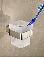 Sujetador del Cepillo de Dientes/Gadgets de baño Contemporáneo - Montura de Pared