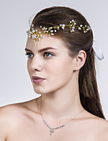 Pannsmycke Headpiece Dam Bröllop/Speciellt Tillfälle/Casual Imitation Pärla Bröllop/Speciellt Tillfälle/Casual 1 st.