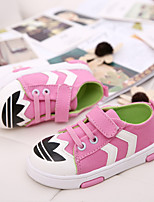 Children Shoes Outdoor/Casual Canvas Fashion Sneakers Blue/Pink/Red
