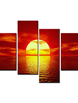 VISUAL STAR®Beautiful Sunset Decoration Canvas Art Printing Ready to Hang
