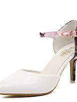 Women's Shoes Stiletto Heel Heels/Pointed Toe Pumps/Heels Casual Black/White
