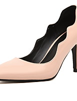 Women's Shoes Patent Leather Stiletto Heel Heels/Pointed Toe Pumps/Heels Casual Blue/Pink/White