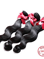 EVET Peruvian Virgin Hair Body Wave Extensions Top Grade 6A Human Hair Weave Bundles 3pcs/lot Wholesale Price