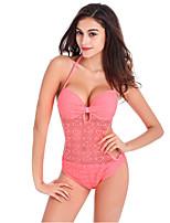 Women's Sweety Style Lace One Piece Swimwear