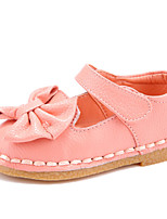HOBIBEAR 2015 Girls' Shoes Casual Comfort/First Walkers/Round Toe Suede Flats Pink/Coral