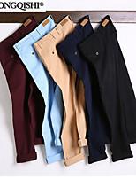 AOLONGQISHI® Men's Casual Pure Suits Pants (Cotton) 8739
