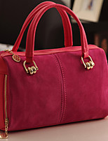Women 's Other Leather Type Duffel Tote - Red