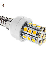 E14/G9/E26/E27 3 W 27 SMD 5050 350 LM Warm White/Cool White Dimmable Corn Bulbs AC 220-240/AC 110-130 V