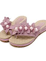 Women's Shoes e Flat Heel Open Toe Sandals Casual Pink/Purple/Red