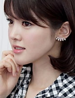 The Eyelashes Design Diamond Earrings