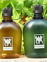 WEST BIKING® Texture Excellent Riding Cartoon Cups 1000ml Large Capacity Portable Outdoor Plastic Sports Bottle