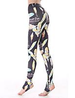 calças justas (Preto) - Mulheres - Respirável/Secagem Rápida/wicking