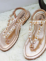 Women's Shoes Flat Heel Comfort Sandals Casual Silver/Gray/Gold