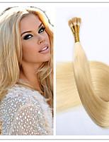 3pcs / lot 1 g / s 100g / pc brasilianisches reines Keratin Kapsel Fusion vor-verbundene Haarverlängerung Haar-Stick / i Spitze Haar auf