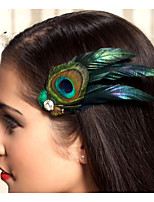 Hand Made Wedding Feather Hair Fascinator Headpieces Fascinators 002