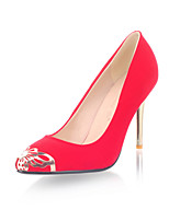 Women's Shoes Stiletto Heel Pointed Toe/Closed Toe Pumps/Heels